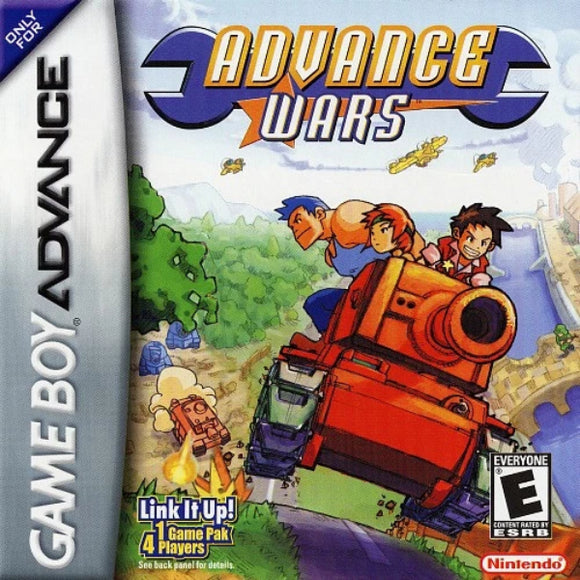 Advance Wars Nintendo Game Boy Advance - Gandorion Games
