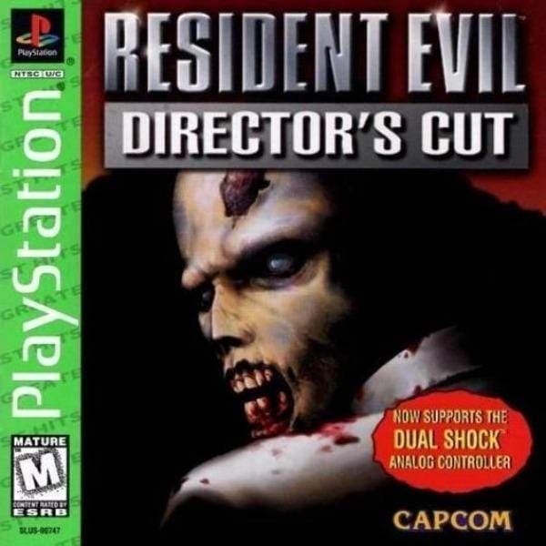 Resident Evil: Director's Cut (Greatest Hits) - PlayStation Game