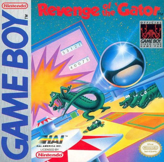 Revenge of the Gator Nintendo Game Boy - Gandorion Games