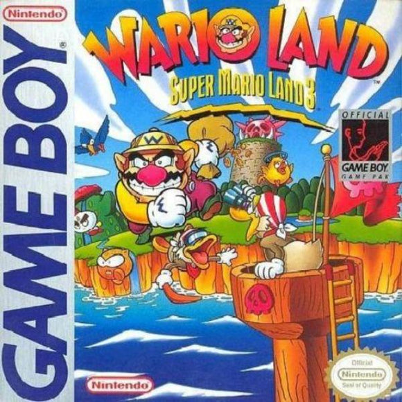 Wario Land Super Mario Land 3 Nintendo Game Boy - Gandorion Games