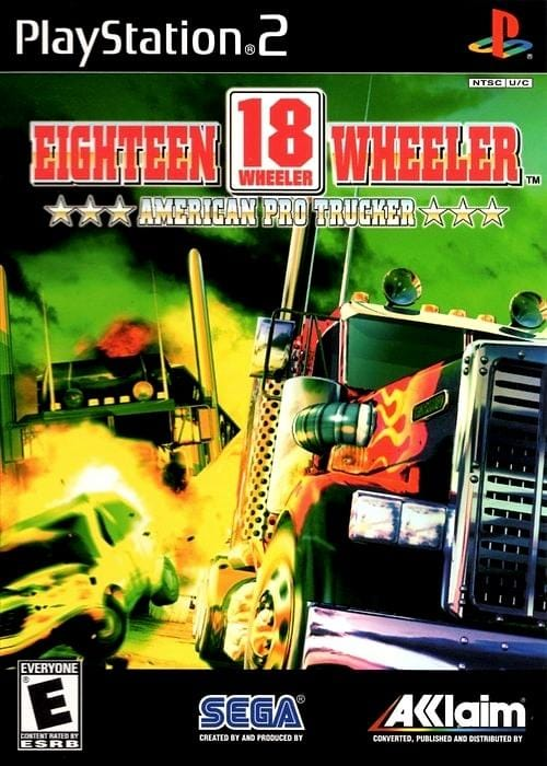18 Wheeler American Pro Trucker Sony PlayStation 2 Game - Gandorion Games