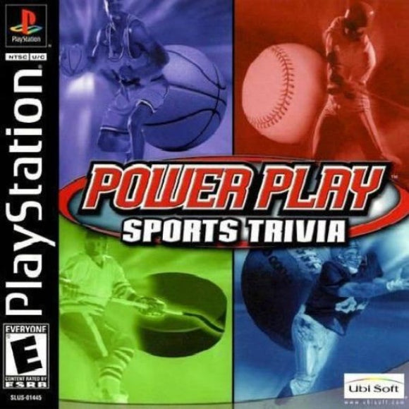 Power Play: Sports Trivia Sony PlayStation - Gandorion Games
