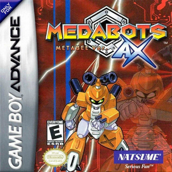 Medabots AX Metabee Version Nintendo Game Boy Advance - Gandorion Games