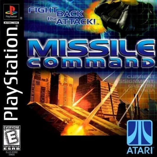 Missile Command PlayStation Game - Gandorion Games