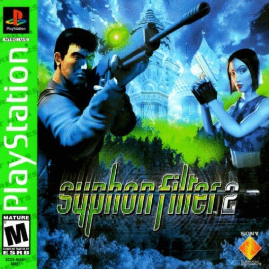 Syphon Filter 2 Greatest Hits PlayStation Game - Gandorion Games
