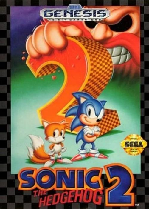 Sonic the Hedgehog 2 Sega Genesis Game - Gandorion Games