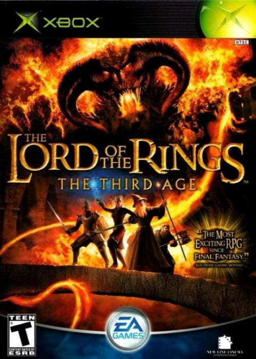 The Lord of the Rings: The Third Age Microsoft Xbox - Gandorion Games