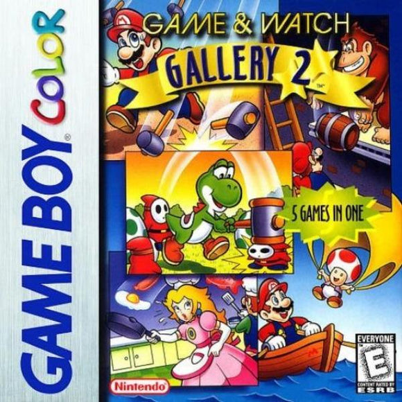 Game & Watch Gallery 2 Nintendo Game Boy Color - Gandorion Games