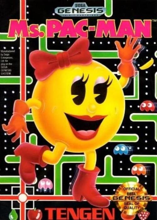 Ms. Pac-Man Sega Genesis Game - Gandorion Games