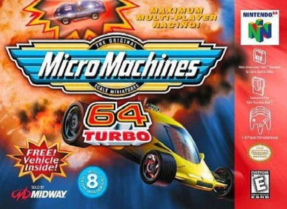 Micro Machines 64 Turbo Nintendo 64 Game - Gandorion Games