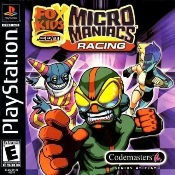Micro Maniacs Racing PlayStation Game - Gandorion Games