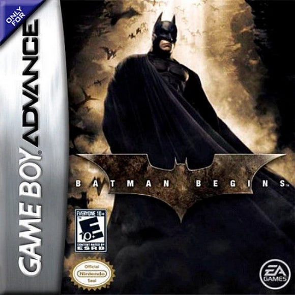 Batman Begins Nintendo Game Boy Advance - Gandorion Games