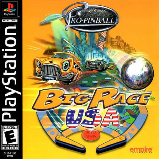 Pro Pinball Big Race USA PlayStation Game - Gandorion Games