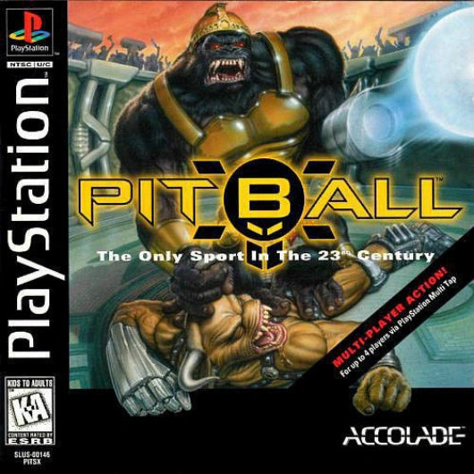Pitball PlayStation Game - Gandorion Games