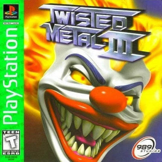 Twisted Metal III Greatest Hits Sony PlayStation - Gandorion Games