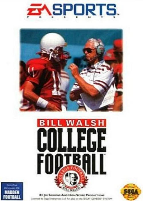 Bill Walsh College Football Sega Genesis - Gandorion Games