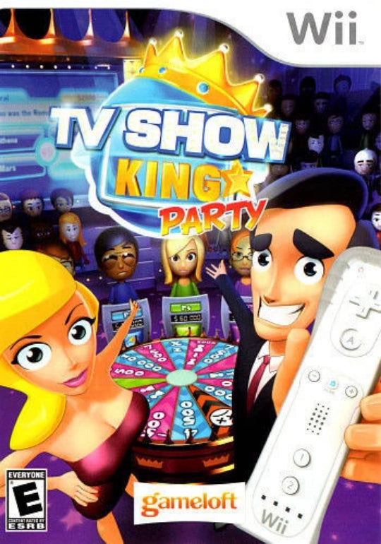 TV Show King Party Nintendo Wii - Gandorion Games