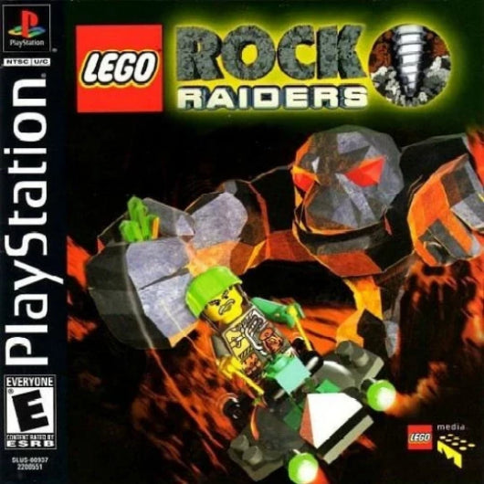 LEGO Rock Raiders PlayStation Game - Gandorion Games