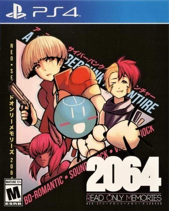 2064 Read Only Memories Sony PlayStation 4 - Gandorion Games
