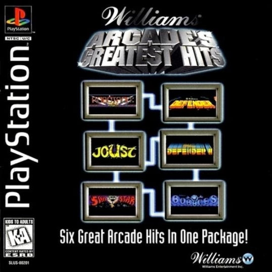 Williams Arcade's Greatest Hits Sony PlayStation - Gandorion Games