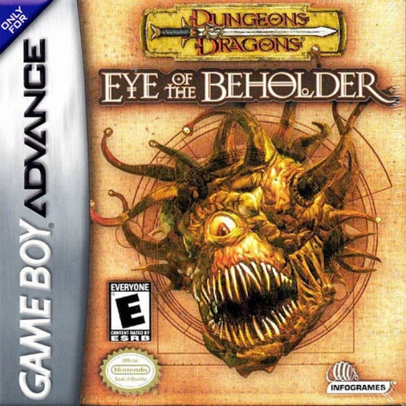 Dungeons & Dragons: Eye of the Beholder - Gandorion Games