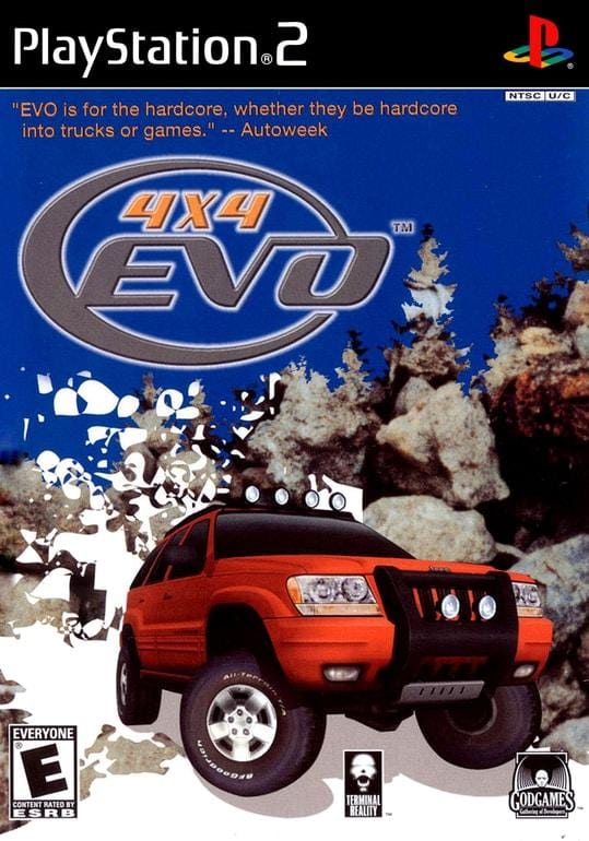 4x4 Evo PlayStation 2 Game