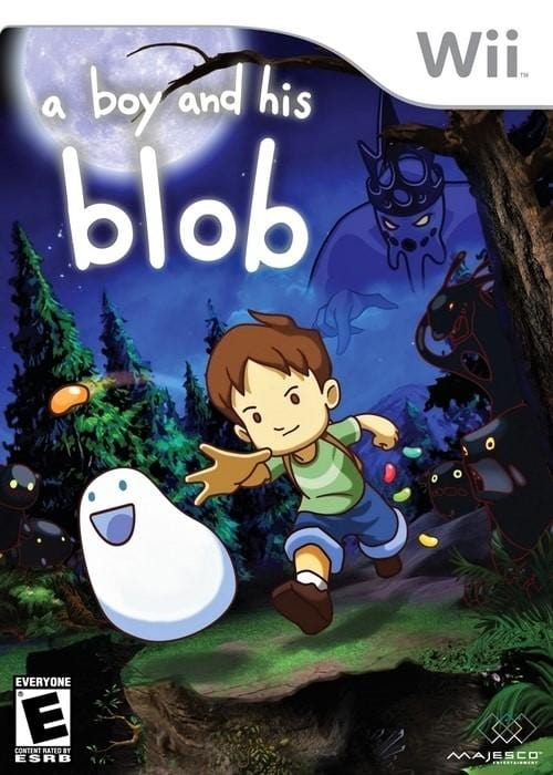 A Boy and His Blob Nintendo Wii - Gandorion Games