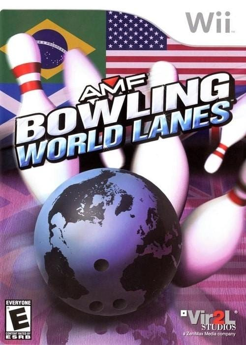 AMF Bowling World Lanes Nintendo Wii Game - Gandorion Games