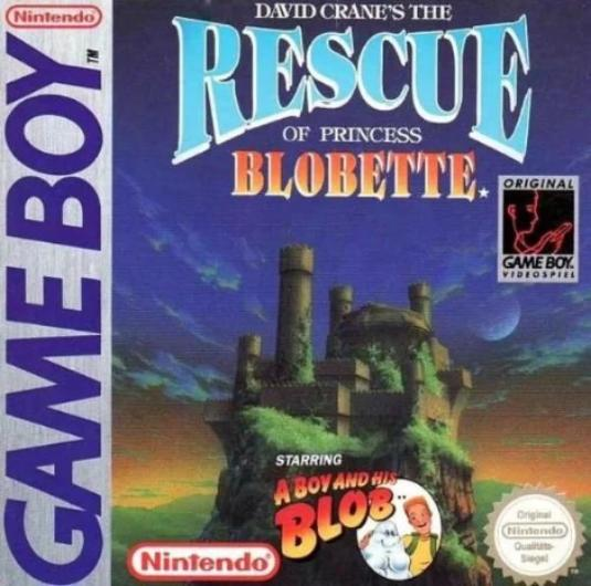 Rescue Of Princess Blobette Nintendo Game Boy - Gandorion Games