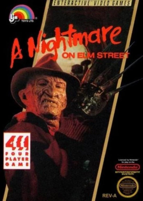 A Nightmare on Elm Street Nintendo NES Game - Gandorion Games