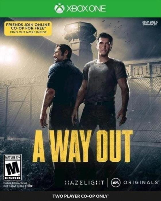 A Way Out Xbox One - Gandorion Games