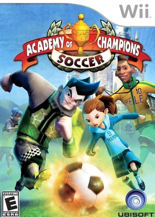 Academy of Champions Soccer Nintendo Wii Game - Gandorion Games