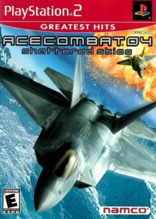 Ace Combat 04: Shattered Skies Sony PlayStation 2 Game - Gandorion Games
