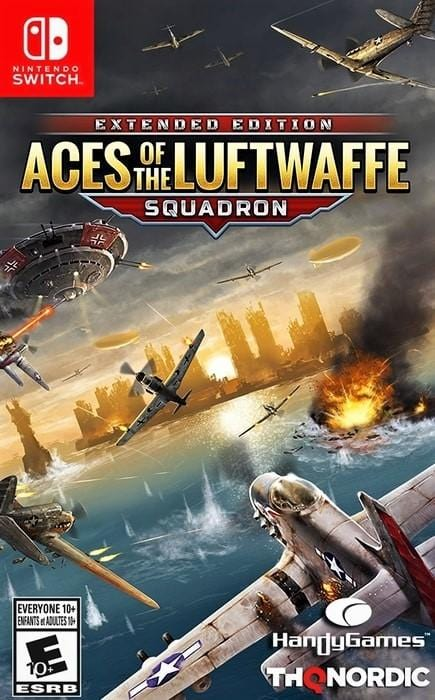 Aces of the Luftwaffe Squadron Nintendo Switch - Gandorion Games