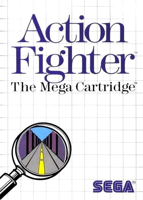 Action Fighter Sega Master System - Gandorion Games