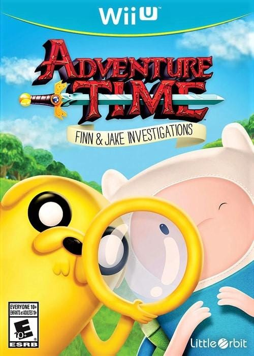 Adventure Time Finn and Jake Investigations Nintendo Wii U Game - Gandorion Games