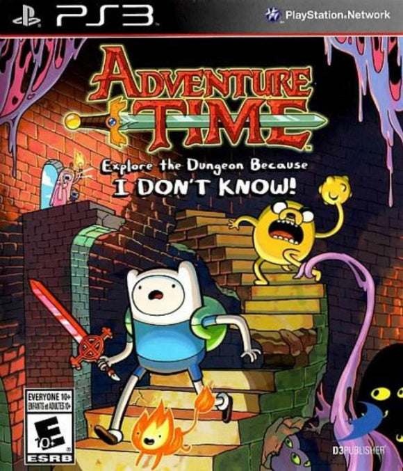 Adventure Time: Explore the Dungeon Because I Don't Know! Sony PlayStation 3 - Gandorion Games