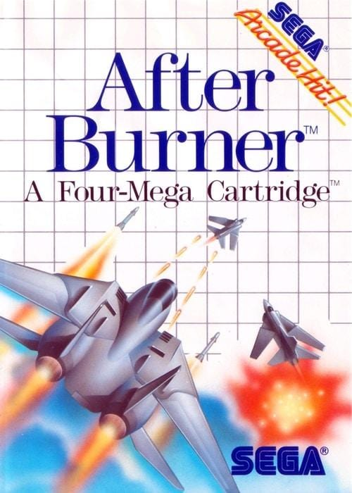 After Burner Sega Master System - Gandorion Games