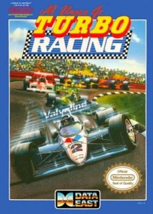 Al Unser Turbo Racing Nintendo NES Game - Gandorion Games