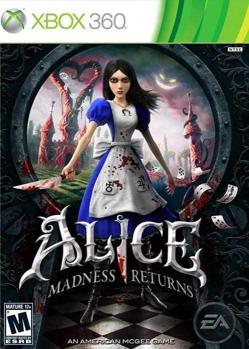 Alice: Madness Returns Microsoft Xbox 360 Game - Gandorion Games