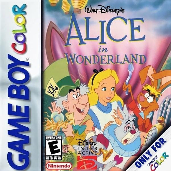 Alice in Wonderland - Nintendo Game Boy Color