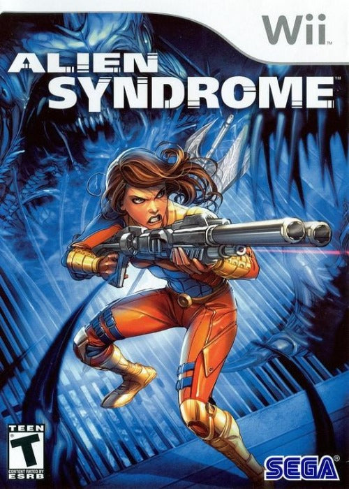 Alien Syndrome Nintendo Wii Game - Gandorion Games