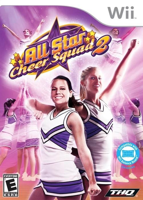 All Star Cheer Squad 2 Nintendo Wii Game - Gandorion Games
