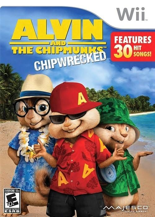 Alvin and the Chipmunks Chipwrecked Nintendo Wii Game - Gandorion Games