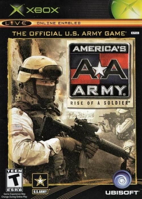 America's Army Rise of a Soldier Microsoft Xbox Game - Gandorion Games