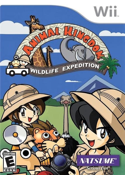 Animal Kingdom Wildlife Expedition Nintendo Wii Game - Gandorion Games