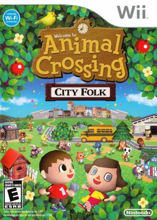 Animal Crossing City Folk Nintendo Wii Game - Gandorion Games