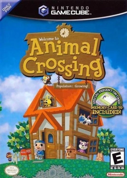Animal Crossing Nintendo GameCube Game - Gandorion Games