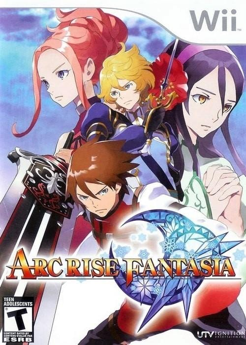Arc Rise Fantasia Nintendo Wii Game - Gandorion Games