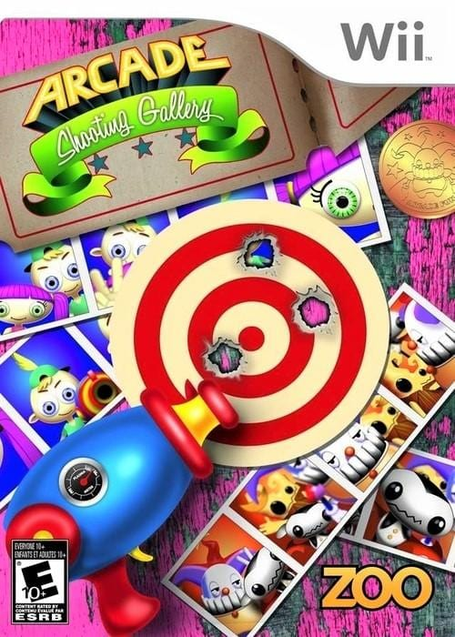 Arcade Shooting Gallery Nintendo Wii Game - Gandorion Games